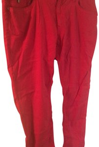 True Religion Relaxed Pants Red