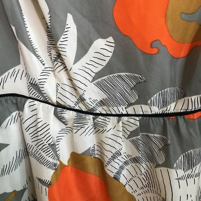 Anthropologie Grey with Flowers Moulinette Soeurs Short Casual Dress Size 4 (S) Anthropologie Grey with Flowers Moulinette Soeurs Short Casual Dress Size 4 (S) Image 4