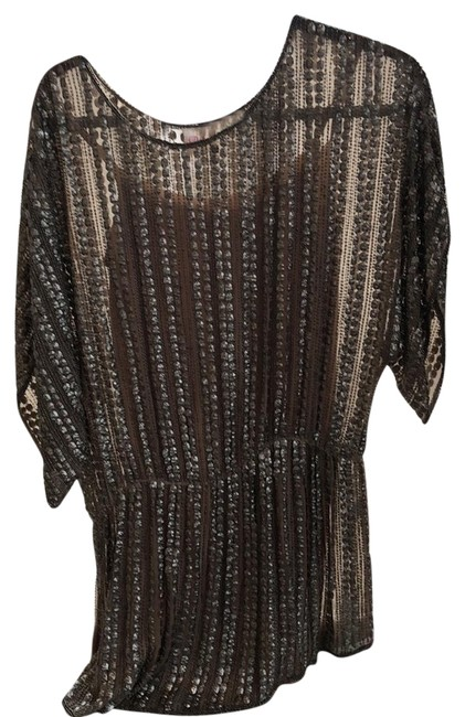 Parker Metallic Party Short Night Out Dress Size 8 (M) Parker Metallic Party Short Night Out Dress Size 8 (M) Image 1