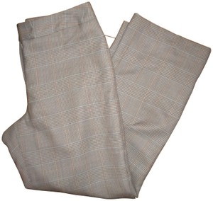 Pendleton Tweed Virgin Wool Lined Trouser Pants Tan