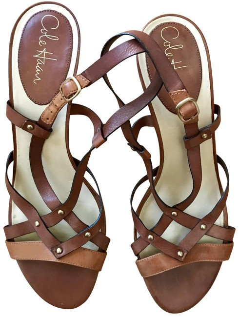 Item - Brown Style 28017 Leather Strappy Slingback Sandals Size US 10.5 Narrow (Aa, N)