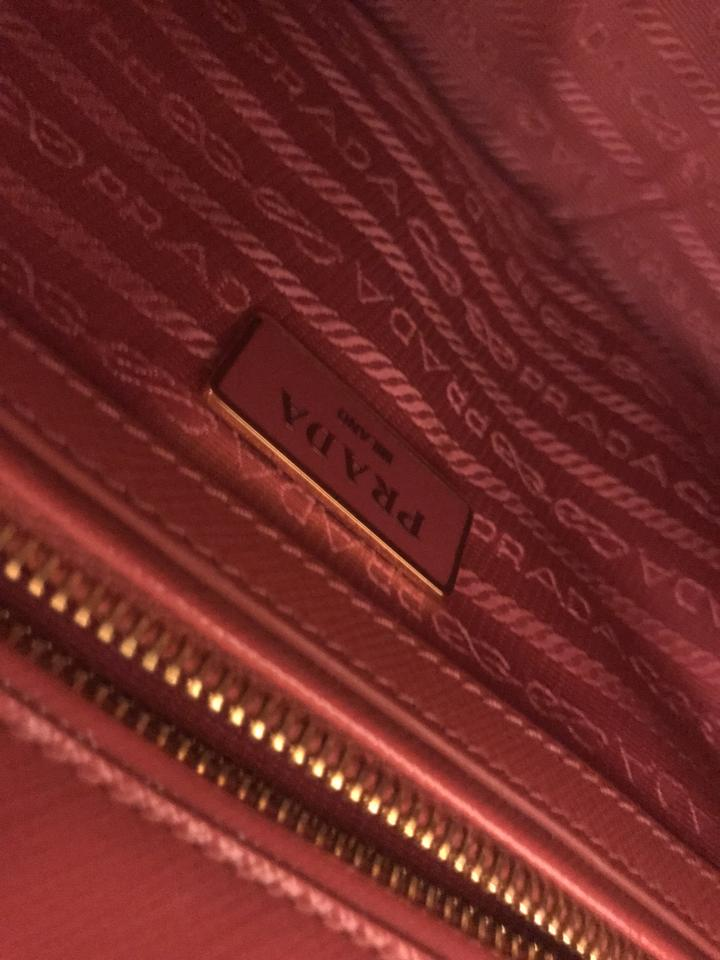 744bb02a5af Prada Double Lux Saffiano Mini Double-zip Tote Pink (Peonia) Patent Leather  Cross Body Bag - Tradesy