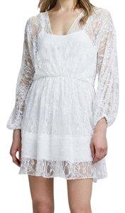 Alice + Olivia short dress White on Tradesy