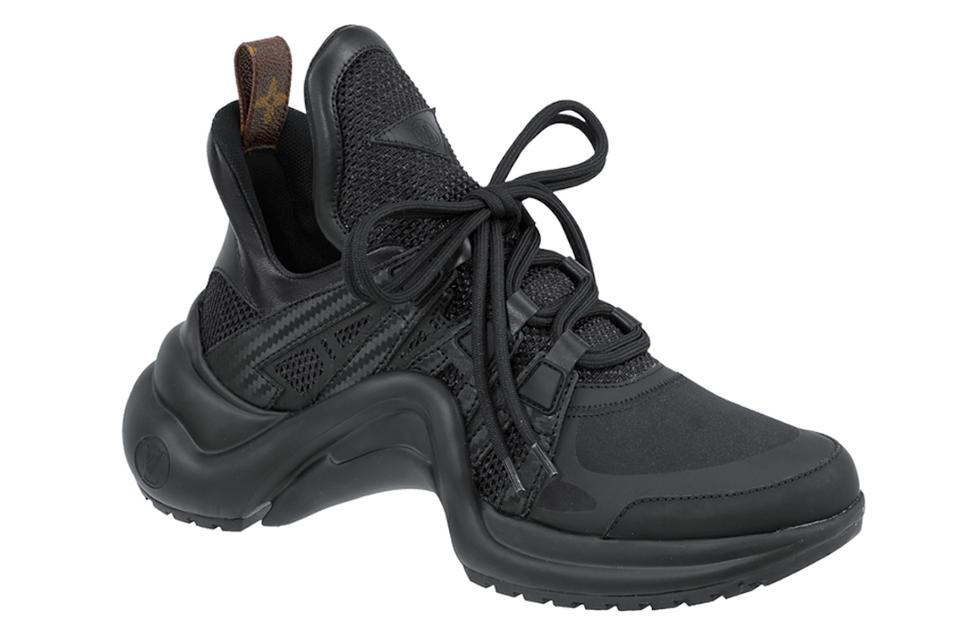 bb6a94aa16b6a Louis Vuitton Trainer Sneaker Archlight Runway Classic black Athletic Image  0 ...