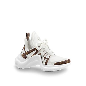 Louis Vuitton Trainer Sneaker Archlight Runway Classic white Athletic