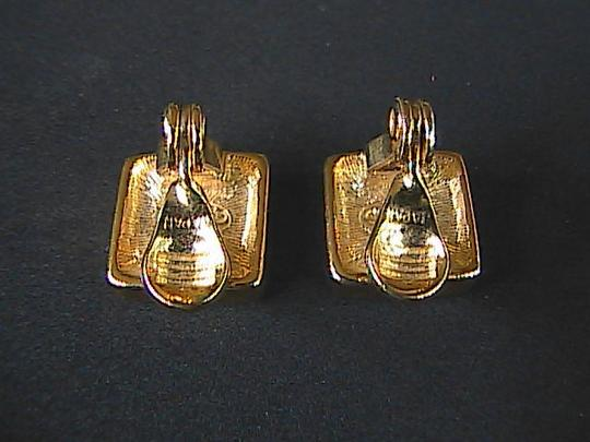 Other Japan Checker Clip On Earrings