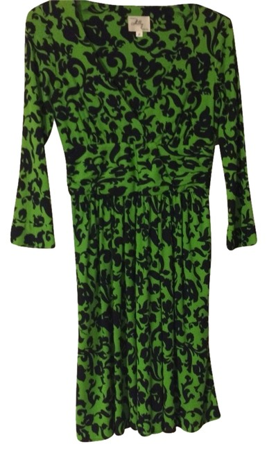 Preload https://item3.tradesy.com/images/milly-green-and-black-palm-85rp01667-knee-length-casual-maxi-dress-size-petite-0-xxs-2306842-0-0.jpg?width=400&height=650