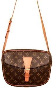 Louis Vuitton Canvas Monogram Cross Body Bag