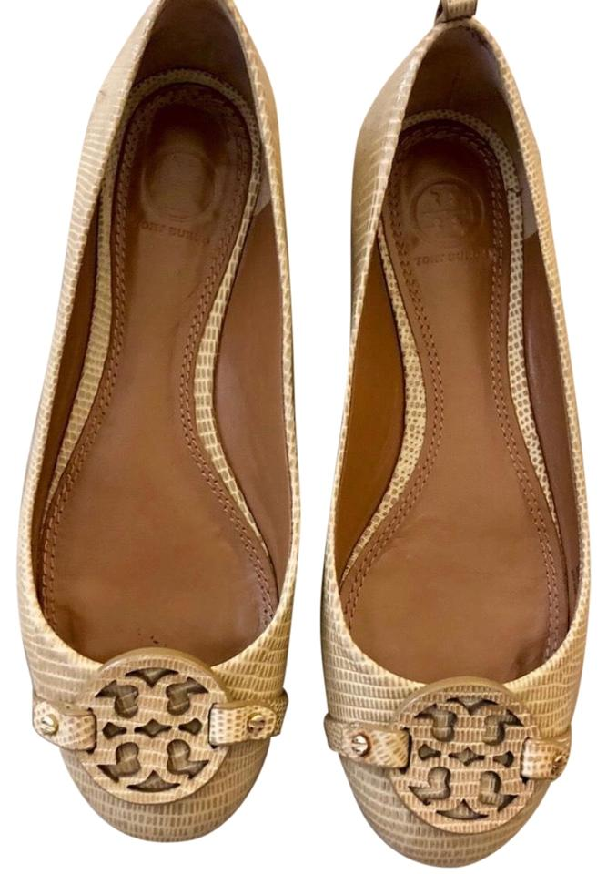 WOMEN Flats Tory Burch Tan Miller Flats WOMEN Many styles ccfbc8