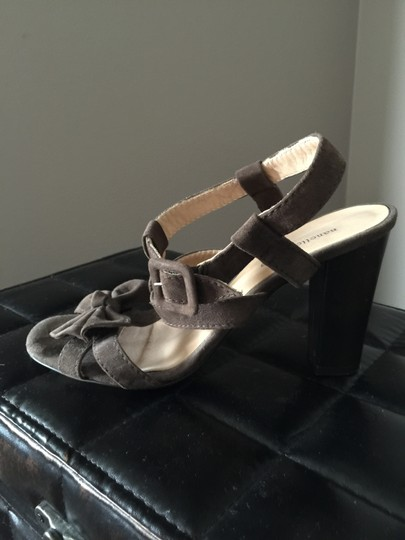 Nanette Lepore Suede brown Sandals