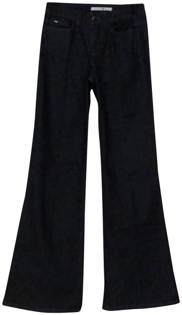 Item - Dark Denim Rinse Muse Trouser/Wide Leg Jeans Size 26 (2, XS)
