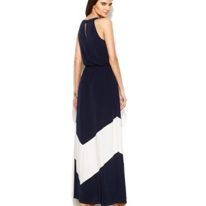 black and white Maxi Dress by Vince Camuto