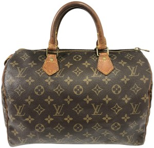 Louis Vuitton Speedy Speedy 30 Speedy Monogram Satchel