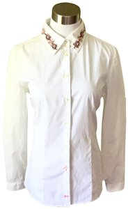 Pink Tartan Button Down Shirt White & Pink