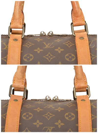 4a2db53df44c Louis Vuitton Keepall 55 Carry On. Louis Vuitton Keepall 55 Carry On Duffle  Luggage M41424 Brown Monogram Weekend Travel ...