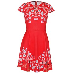 Ted Baker short dress Bright Red Saydi Kyoto on Tradesy