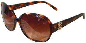 Tory Burch New Tory Burch TY7026 Brown Tortoise Gradient Lens Sunglasses w/ Case