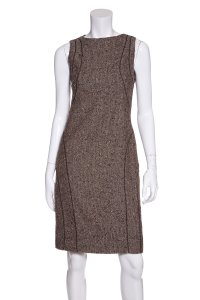Valentino short dress Brown on Tradesy