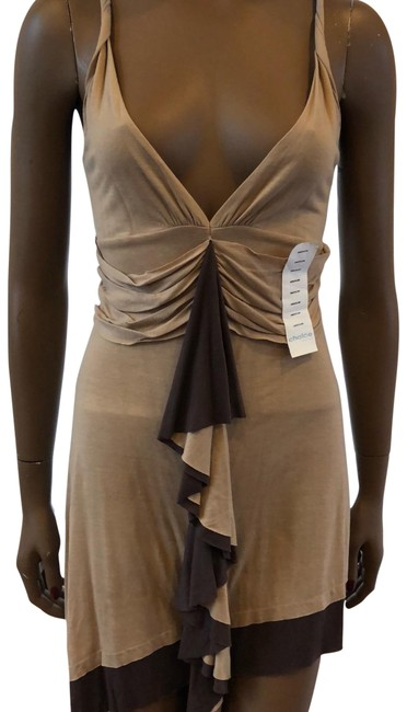 Item - Brown O Short Casual Dress Size 8 (M)