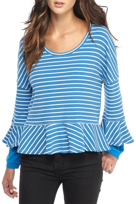 Preload https://img-static.tradesy.com/item/23071127/free-people-new-blue-round-about-tee-blouse-size-8-m-0-1-650-650.jpg