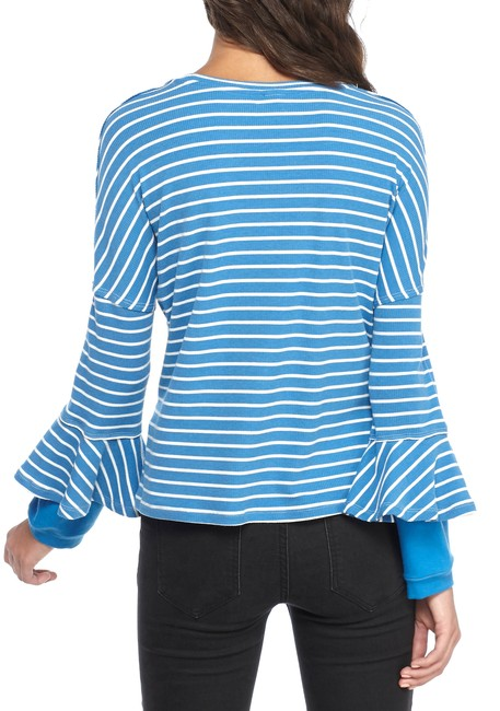 Free People Top New Blue Image 1