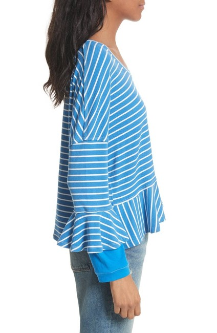 Free People Top New Blue Image 2