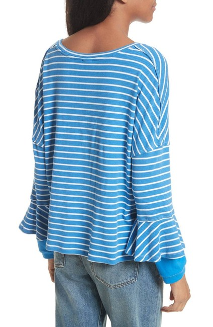 Free People Top New Blue Image 5