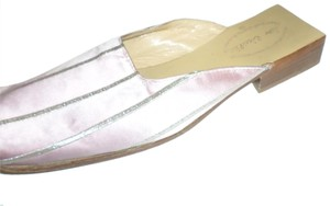 DOW CIEEILLO Pink Mules