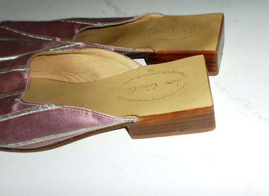 DOW CIEEILLO Pink Mules Image 2