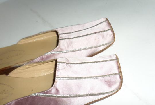 DOW CIEEILLO Pink Mules Image 3