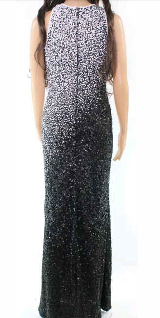 Carmen Marc Valvo Wedding Sequin Gown Prom Gown Cocktail Dress Image 1
