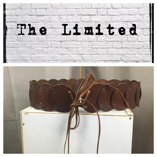 Preload https://img-static.tradesy.com/item/23071353/the-limited-brown-leather-circle-tie-belt-0-0-540-540.jpg