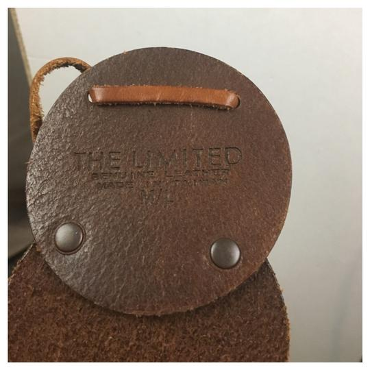 The Limited Leather Circle Tie Belt Image 1