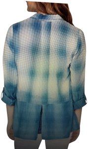 Wendy Bellissimo Blue ombre plaid maternity top by Wendy Bellissimo NWT