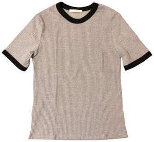 Zara T Shirt Grey & Black