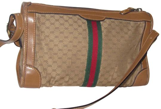 Preload https://img-static.tradesy.com/item/23071711/gucci-vintage-pursesdesigner-purses-brown-small-g-logo-print-fabric-and-camel-leather-with-redgreen-0-1-540-540.jpg