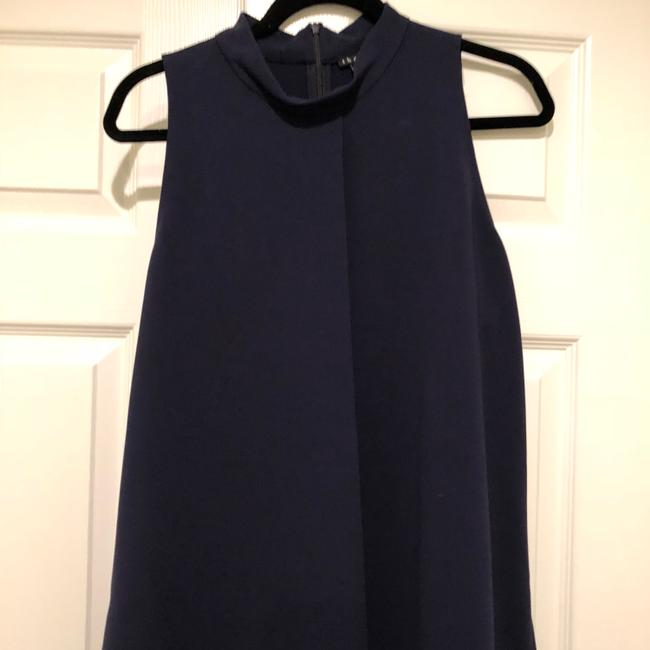 Theory Top Navy Image 1