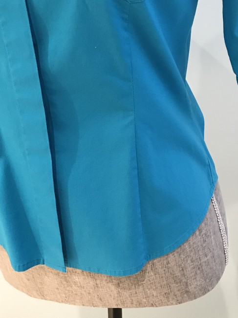 Express Tops Size Small Tops Small Button Down Shirt Turquoise Image 6