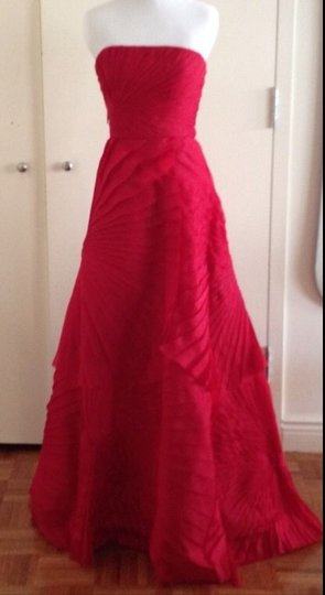 Preload https://item2.tradesy.com/images/angel-sanchez-red-silk-formal-bridesmaidmob-dress-size-2-xs-2307206-0-0.jpg?width=440&height=440