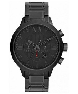 A|X Armani Exchange Black Stainless Steel Chronograph AX1277 Men's Watch