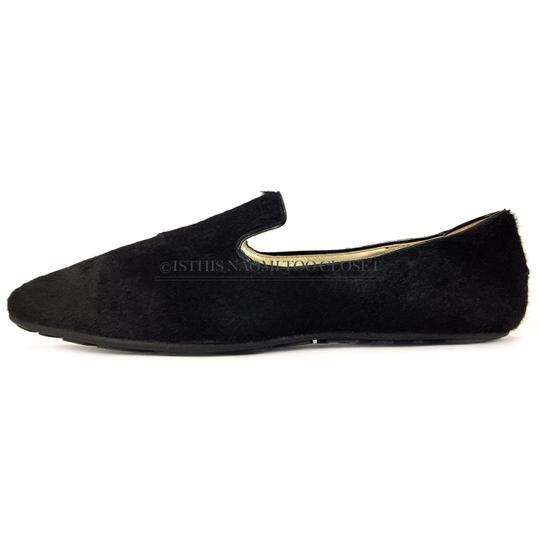 Jimmy Choo Travel Comfortable Shopping Casual Driving Black Flats Image 1