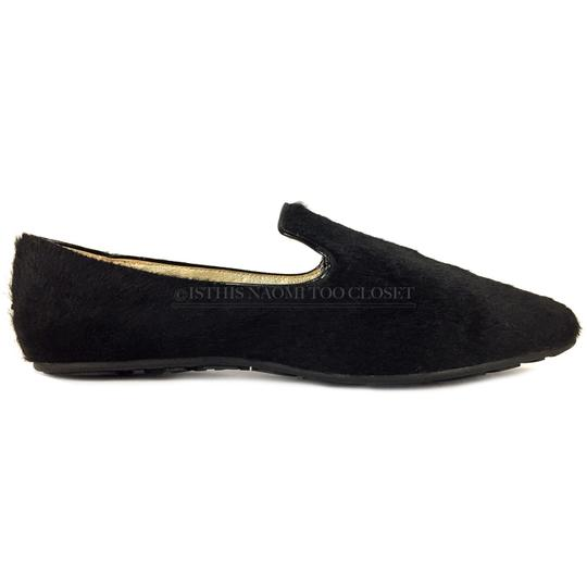 Jimmy Choo Travel Comfortable Shopping Casual Driving Black Flats Image 2