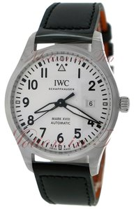 IWC IWC Pilot's Mark XVII 40mm, White Dial - Stainless Steel on Strap