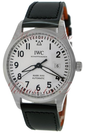 Preload https://img-static.tradesy.com/item/23072250/iwc-iw327002-pilot-s-mark-xvii-40mm-white-dial-stainless-steel-on-strap-watch-0-1-540-540.jpg