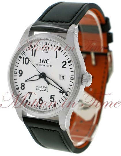 IWC IWC Pilot's Mark XVII 40mm, White Dial - Stainless Steel on Strap Image 1