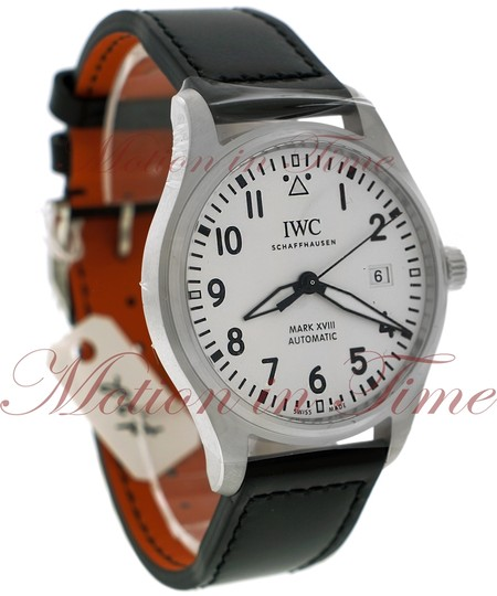 IWC IWC Pilot's Mark XVII 40mm, White Dial - Stainless Steel on Strap Image 2
