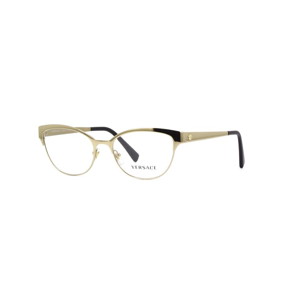 595d8df3325 Versace New Versace Authentic Frame Eyeglasses Mod Ve 1240 1252 Gold Frame  Rx Image 0 ...