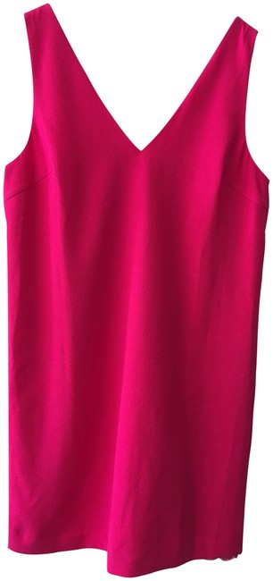 Preload https://img-static.tradesy.com/item/23072581/trina-turk-bright-pink-sleeveless-mid-length-short-casual-dress-size-10-m-0-1-650-650.jpg