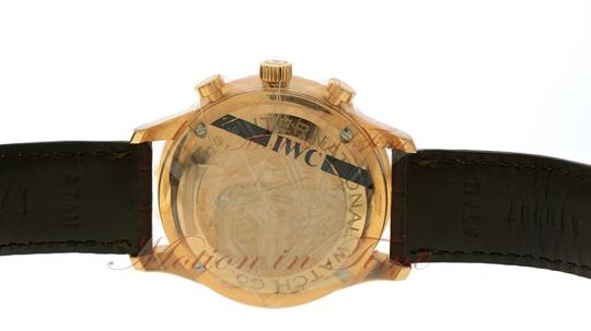 IWC IWC Portuguese Automatic Chrono, Silver Dial - Rose Gold on Strap Image 3