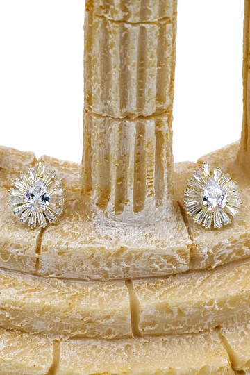 Ocean Fashion Gold Noble crystal spider earrings Image 2